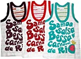 Bubbles Sleeveless Vests - Set Of 3 (12-...