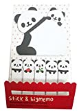 happyquda Creative Cartoon Panda selbstklebend Notes Post it Notes Sticky