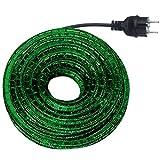 Lichtschlauch Set 6m grün mit Anschlussleitung