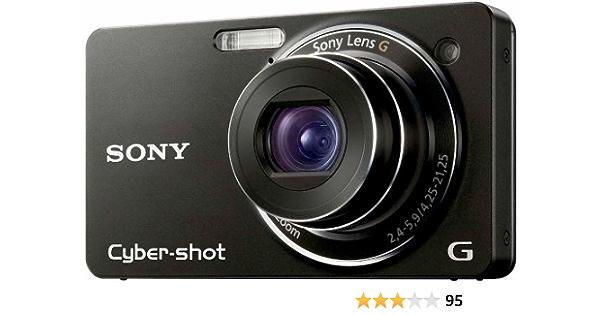 Sony Dsc Wx1 Digitalkamera 2 7 Zoll Schwarz Kamera