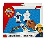 Undercover- Fireman Sam Set per Il Fai da Te per Bambini, Colore Gioco Creativo, FSBT4001