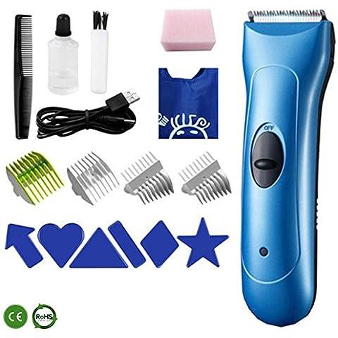 Barber tagliatore casa ricarica rasoio elettrico Xagoo® fader mute per adulto / bambino / infante / bambino