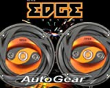 "Edge Audio ED206 6.5"" inch 180w 180 Watts 4-Way 16.5cm Car Door Coaxial Speakers - Pair"