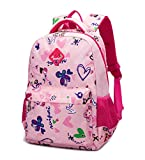 Fanci Butterfly Pattern Backpack Primary School Student Schoolbag Girls Cuddly Daypack Nylon Rucksack Bag