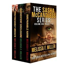 The Sasha McCandless Series: Volume 1 (Books 1-3) (English Edition) par [Miller, Melissa F.]