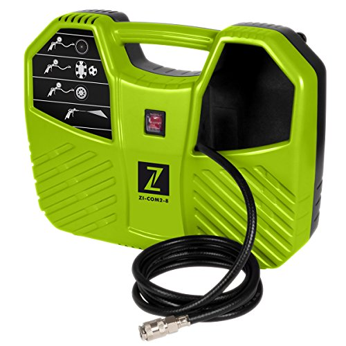 Zipper - Compresseur gonfleur compact 8 bar 230 V 1100 W - ZI-COM2-8 - Zipper