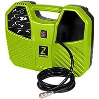 Mini compresor electrico de aire ZI-COM2-8 maleta 8 bares 1100W mas adaptadores