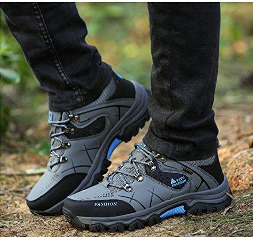 Ben Sports Chaussures De Sport Pour Hommes Et Outdoor Chaussures De Randonnée Basses, 39-47 Gris