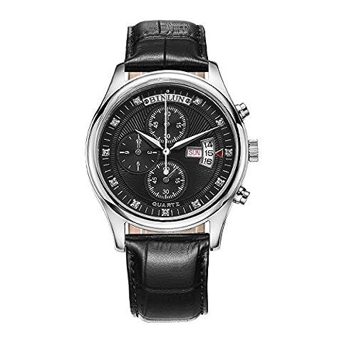 BINLUN - -Armbanduhr- BL0015G-LSBB1