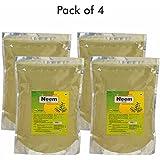 Herbal Hills Neem Patra Powder - 1 Kg Powder - Pack Of 4 - Skin And Blood Purifier