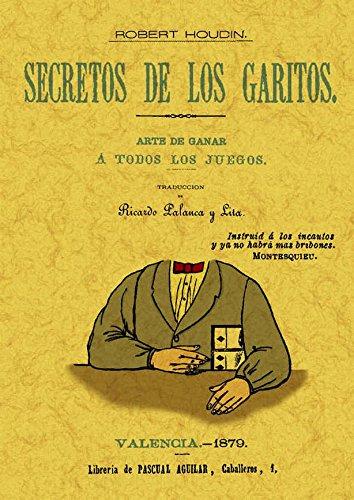 Secretos de los garitos por Jean-Eugène Robert-Houdin