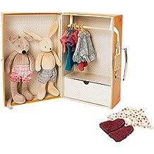 Moulin Roty La Grande Famille The Little Wardrobe Suitcase