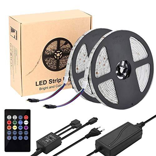 GZRADC Lichtleiste, 5050 Music Sound-Farbstreifen, LED-Beleuchtungsset FüR Ktv Bar Family Hotel