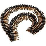 German Trendseller® ceinture de munition ┃accessoire de carnaval┃ porte-cartouche┃ cartouchières┃déguisement rambo┃ militaire ┃armée