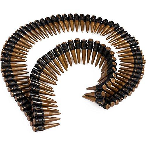 German Trendseller® ┃ Munitionsgürtel - Soldat -┃ 160 cm ┃ - NEU -┃ Fasching ┃ Karneval ┃ Armee ┃ Patronengürtel ┃