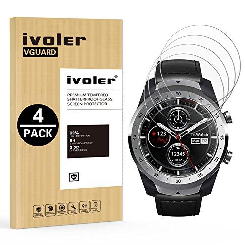IVoler [4 Unidades] Protector Pantalla TicWatch Pro