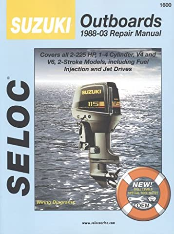 Suzuki Outboards, All 2 Stroke Engines, 1988-99 (Seloc Marine Tune-Up and Repair Manuals)