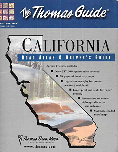 Thomas Guide 2002 California Road Atlas and Driver's Guide (Callifornia Road Atlas and Driver's Guide)