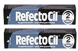 2er Set: Refectocil Augenbrauen & Wimpernfarbe 2 blauschwarz 15ml