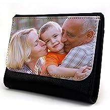 Lolapix - Cartera Mediana Personalizada con tu Foto, diseño o Texto, Original y Exclusivo