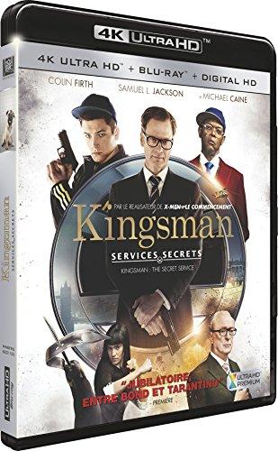 Kingsman : Services secrets [4K Ultra HD + Blu-ray + Digital HD]