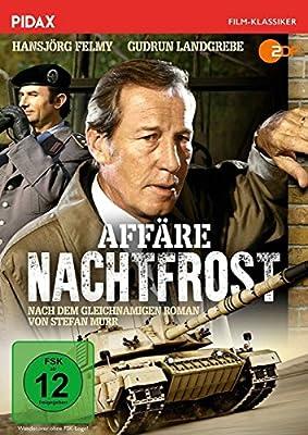 Affäre Nachtfrost / Packender Agententhriller mit Hansjörg Felmy und Gudrun Landgrebe nach dem gleichnamigen Bestseller (Pidax