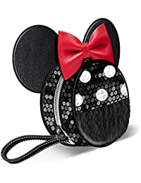 Minnie Mouse Sequin-Monedero Redondo