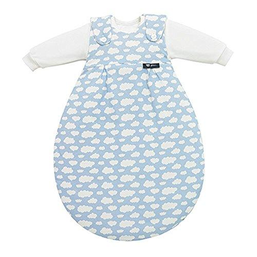 Alvi 653-1 Baby-Mäxchen 3tlg. Wolke blau Das Original, Größe:62/68
