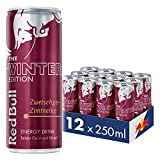 Red Bull Energy Drink Zwetschge-Zimt 12 x 250 ml Dosen Getränke Winter Edition 12er Palette
