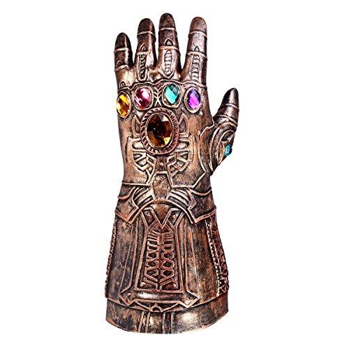 (sgerste Athanasios Infinity Gauntlet Handschuh Cosplay Infinity Krieg the Avengers Kostüm kupfer)
