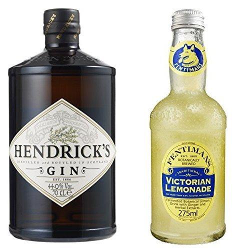Hendrick\'sGin(1x0.7 l) mit Fentimans Victorian Lemonade, 12er Pack (12 x 275 ml)