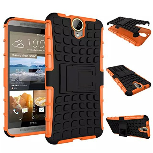 htc-one-e9-plus-case-drunkqueen-heavy-duty-rugged-hybrid-armor-dual-layer-hard-shell-tire-tread-gren