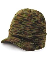 Résultat ESCO Armée Bonnet en tricot bonnet visière Beany–9couleurs -  vert -  taille unique