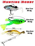 #5: Soft Fish, Frog, Shrimp With Hook Use In Fishing Rod,Reel