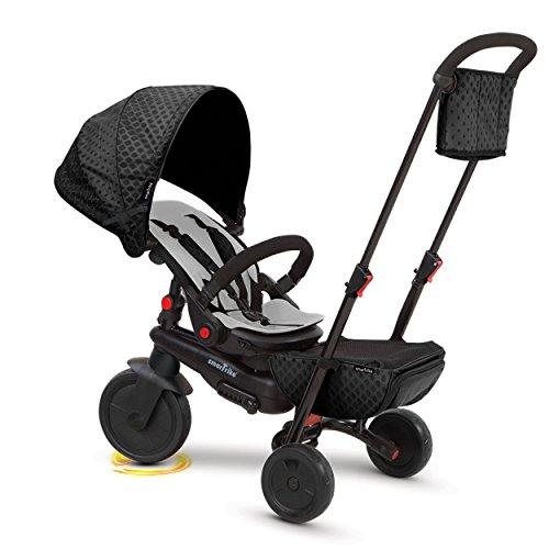 SMARTRIKE - Tricycle Évolutif Pliant Smartfold 700, 5500000, Noir
