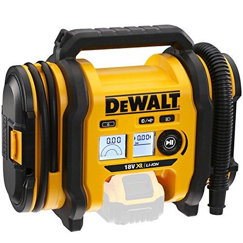 DeWalt Akku-Kompakt-Kompressor DCC018N Luftpumpe, gelb/schwarz, ohne Akku und