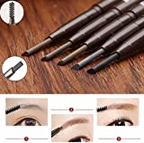 JaneDream Double Head Eyebrow Pencil Waterproof Automatic Eyeliner Pen Drawing Eye Brow
