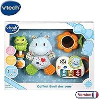 VTech - Coffret naissance - Eveil des sens - Cadeau de naissance avec premiers jouets de Bébé