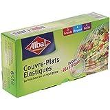 Albal 9 Couvre-Plats, Ruban Élastique, Fraîcheur et Conservation, Lot de 2