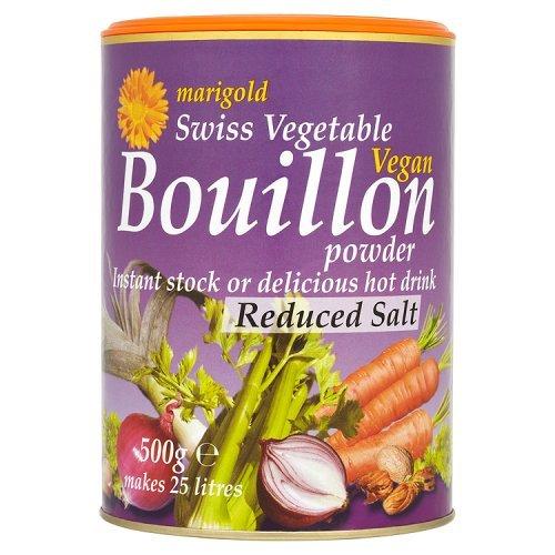 Marigold Salt Red Veg poudre de bouillon