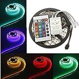 Hrph 5M 5050RGB LED-Streifen 300LED wasserdicht + 44 Schlüsselsteuerpult LED-Streifen-Installationssatz