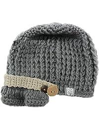 Hrph Niños sombreros de punto Niños Niños bebés Gorro de Visera Gorra de invierno