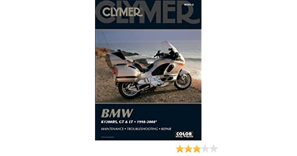 BMW K1200rs Gt Lt 19982008 Clymer Color Wiring Diagrams Amazoncouk James Grooms 9781599692340 Books: Wiring Diagram 2008 BMW K1200 At Sewuka.co