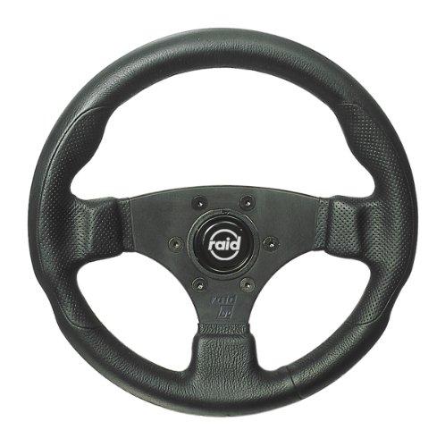 Raid 44300 17 Sportlenkrad hp Sport 300 mm Durchmesser schwarz mit schwarzer Speiche und...