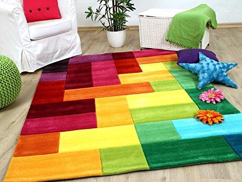 Lifestyle Kinderteppich Bunte Farbenwelt !!! Sofort Lieferbar !!!