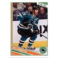 2013 /14 Upper Deck O Pee Chee Hockey Card # 387 Joe Thornton