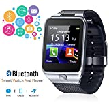 Indigi 2 en 1 Smart Watch + Téléphone [Bluetooth Sync + Wrist Camera + messages]