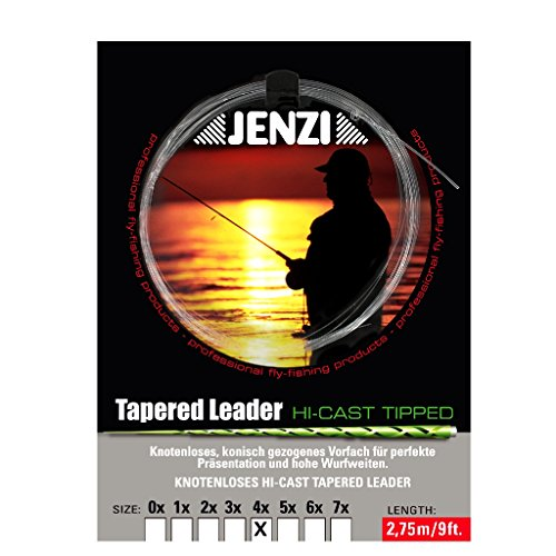 JENZI Tapered Leader- Der Klassiker 4x / 0,18/ 0,54