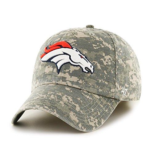 47 Brand NFL Denver Broncos Offizier Franchise Taillierte Mütze XL Digital Camo
