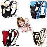 Femor wunderbar praktische Babytrage als Bauchtrage, Rückentrage und Hüfttrage,bis 15kg, 0-24...